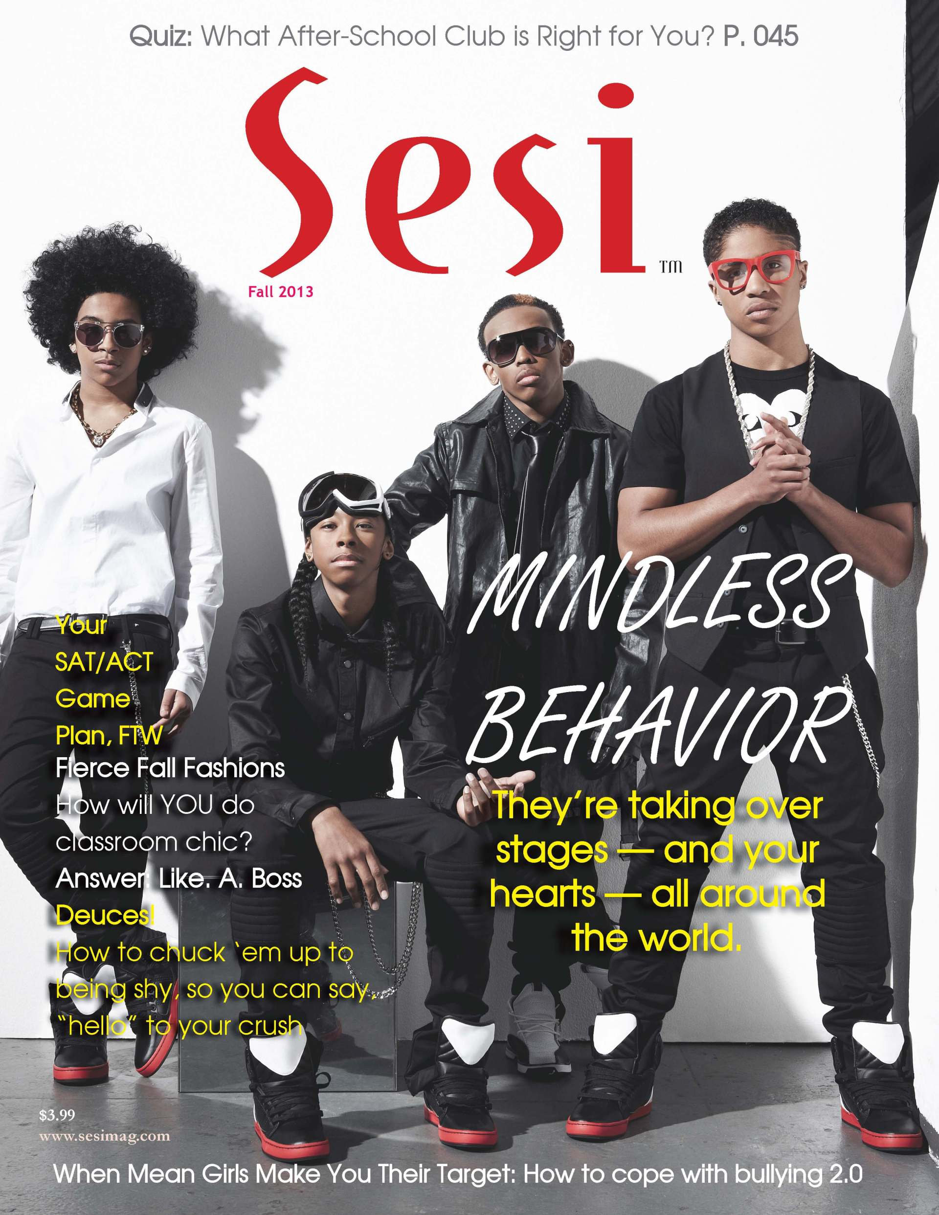 Fall 2013 Issue Featuring M.B. on the Cover