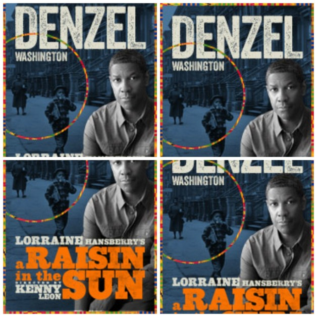a raisin in the sun collage