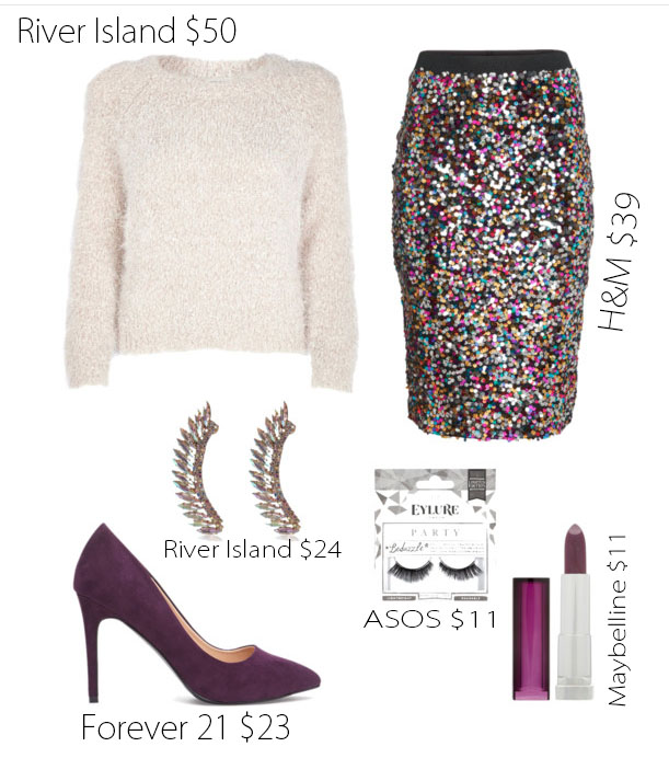 Sesi Holiday Party Look 2