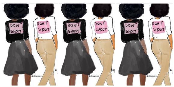 Illustration: @nichollekobi/Follow @nichollekobi on IG for more #woke illustrations.