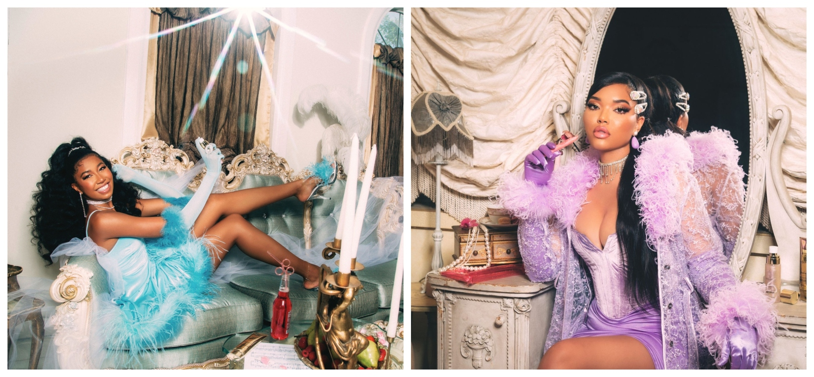 Aoki Lee Simmons and Ming Lee Simons for Baby Phat Beauty